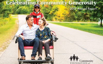 2019 Annual Report: Celebrating Community Generosity