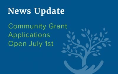 Community Foundation Opens Community Grant Applications