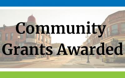 Community Grants Awarded