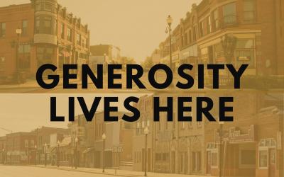 GENEROSITY LIVES HERE EVENT