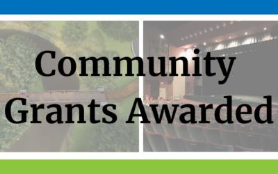 FY2022 Fall Community Grants Awarded